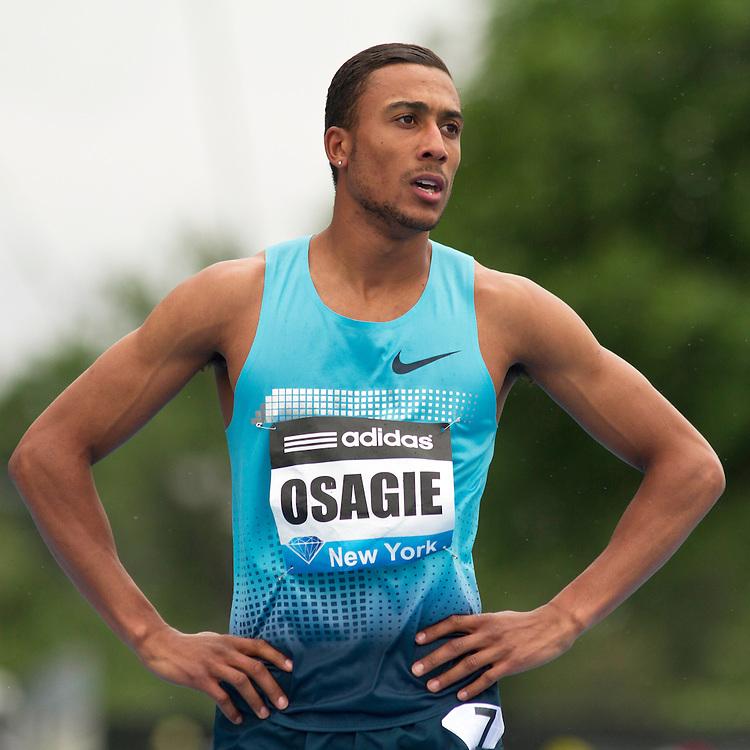 adidas Grand Prix Diamond League professional track & field meet: mens 800 meters, Andrew OSAGIE, Great Britain