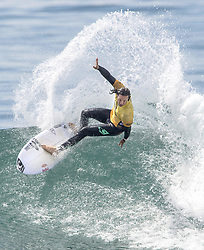 September 15, 2017 - San Onofre, California, USA - Jordy Smith of South Africa surfs against Filipe Toledo of Brazil in the final of the Hurley Pro at Trestles held at San Onofre State Beach on Friday, August 15, 2017. Toledo went on to win the competition. (Credit Image: © Mark Rightmire/The Orange County Register via ZUMA Wire)