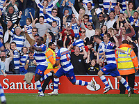 Damion Stewart ( QPR ) celebrates his winning goal. Queens Park Rangers v Sheffield Wednesday  13/04/2009  : Colorsport / Andrew Cowie