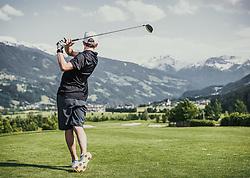 05.06.2019, Golfclub Zillertal, Uderns, AUT, Skijumpers Golf Trophy, im Bild Markus Schiffner (AUT) // during the Skijumpers Golf Trophy at the Golfclub Zillertal, Uderns, Austria on 2019/06/05. EXPA Pictures © 2019, PhotoCredit: EXPA/Stefanie Oberhauser