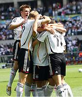 0:1 Jubel Deutschland <br /> Fussball WM 2006 Ecuador - Deutschland<br /> Ecuador - Tyskland<br /> Norway only
