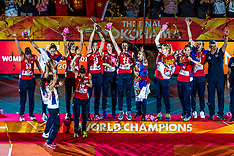 20181020 JPN: Ceremony World Championship Volleyball Women day 21, Yokohama