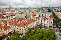 Church of St. Nicholas in the Old Town of Prague, Czech Republic