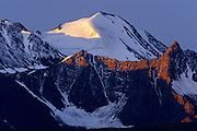 St. Elias Mountains with glacier<br /> Kluane National Park<br /> Yukon<br /> Canada