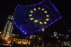 2020-01-29 Pro-EU activists in Parliament Square