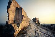 France, La Citadelle at Les-Baux-de-Provence.