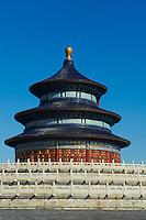 Chine, Pékin (Beijing), Temple du Ciel classé Patrimoine Mondial de l'UNESCO // China, Beijing, Temple of Heaven, Unesco world heritage