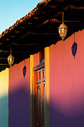 Colourful house in Granada, Nicaragua