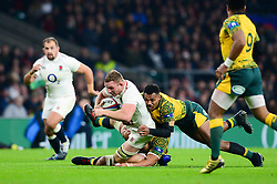 - Mandatory by-line: Dougie Allward/JMP - 24/11/2018 - RUGBY - Twickenham Stadium - London, England - England v Australia - Quilter Internationals