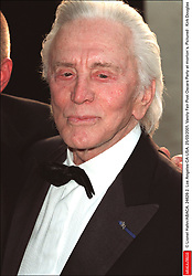 Kirk Douglas Dies At 103 - © Lionel Hahn/ABACA. 24626-2. Los Angeles-CA-USA. 25/03/2001. Vanity Fair Post Oscars Party at morton's. Pictured : Kirk Douglas