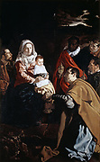 Adoration of the Magi', c1619.  Oil on canvas.  Diego Velasquez (1599-1660) Spanish painter.