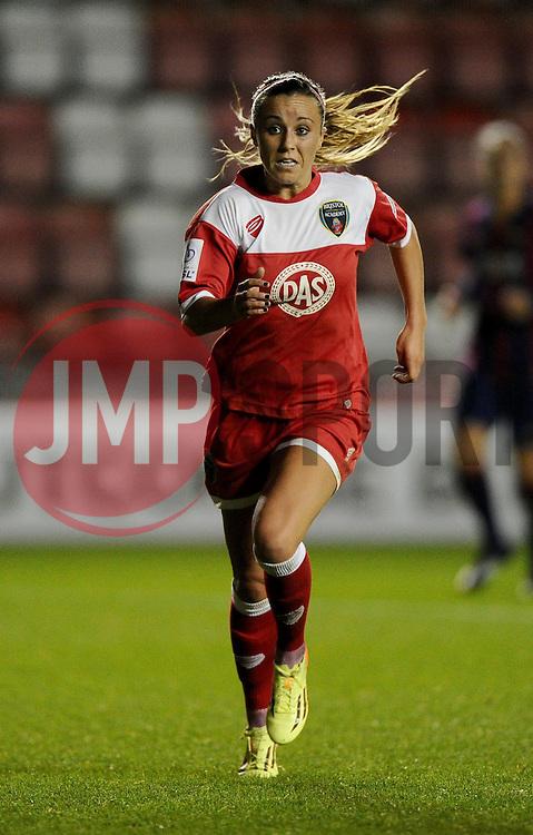 Bristol Academy Womens' Natasha Harding  - Photo mandatory by-line: Joe Meredith/JMP - Mobile: 07966 386802 - 13/11/2014 - SPORT - Football - Bristol - Ashton Gate - Bristol Academy Womens FC v FC Barcelona - Women's Champions League