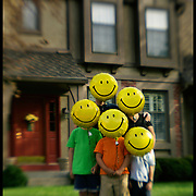 """A University of Kansas researcher is leading a team conducting studies on the """"happy family."""" Initial findings identify some of the characteristics that happy families have in common. The Nickel family of Leawood (pictured) talk about the methods their family uses to promote cohesion and good feelings."""