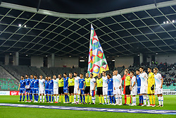 The players during football match between National Teams of Slovenia and Cyprus in Final Tournament of UEFA Nations League 2019, on October 16, 2018 in SRC Stozice, Ljubljana, Slovenia. Photo by  Morgan Kristan / Sportida