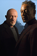 MANHATTAN, NEW YORK, APRIL 6, 2017 Actors Jonathan Banks and Giancarlo Esposito, who star in Better Call Saul, are seen at AMC offices in Manhattan, NY.  4/6/2017 Photo by Jennifer S. Altman/For The Times