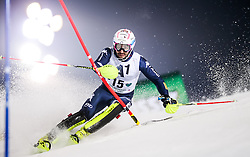 26.01.2016, Planai, Schladming, AUT, FIS Weltcup Ski Alpin, Schladming, Slalom, Herren, 1. Durchgang, im Bild Patrick Thaler (ITA) // Andre Myhrer of Sweden competes during his 1st run of men's Slalom Race of Schladming FIS Ski Alpine World Cup at the Planai in Schladming, Austria on 2016/01/26. EXPA Pictures © 2016, PhotoCredit: EXPA/ Johann Groder