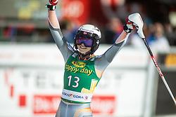 Kristin Lysdahl (NOR) during second run at the Ladies' Slalom at 56th Golden Fox event at Audi FIS Ski World Cup 2019/20, on February 16, 2020 in Podkoren, Kranjska Gora, Slovenia. Photo by Matic Ritonja / Sportida
