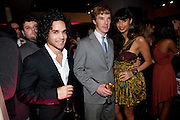 BENEDICT CUMBERBATCH; JAMEELA JAMIL, InStyle's Best Of British Talent Party in association with Lancome. Shoreditch HouseLondon. 25 January 2011, -DO NOT ARCHIVE-© Copyright Photograph by Dafydd Jones. 248 Clapham Rd. London SW9 0PZ. Tel 0207 820 0771. www.dafjones.com.