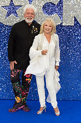 May 20, 2019 - London, England, United Kingdom - Elaine Paige (R) arrives for the UK film premiere of 'Rocketman' at Odeon Luxe, Leicester Square on 20 May, 2019 in London, England. (Credit Image: © Wiktor Szymanowicz/NurPhoto via ZUMA Press)