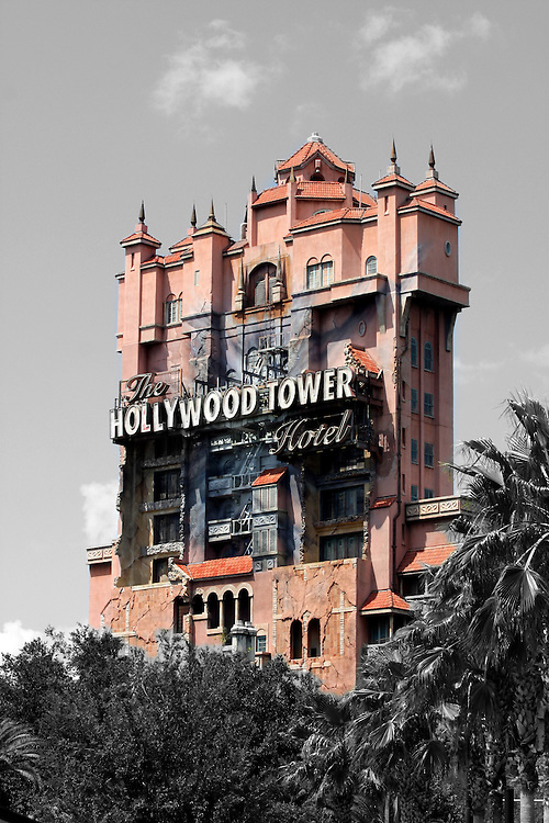 A general view of the Hollywood Hotel at Hollywood Studios at Walt Disney World.