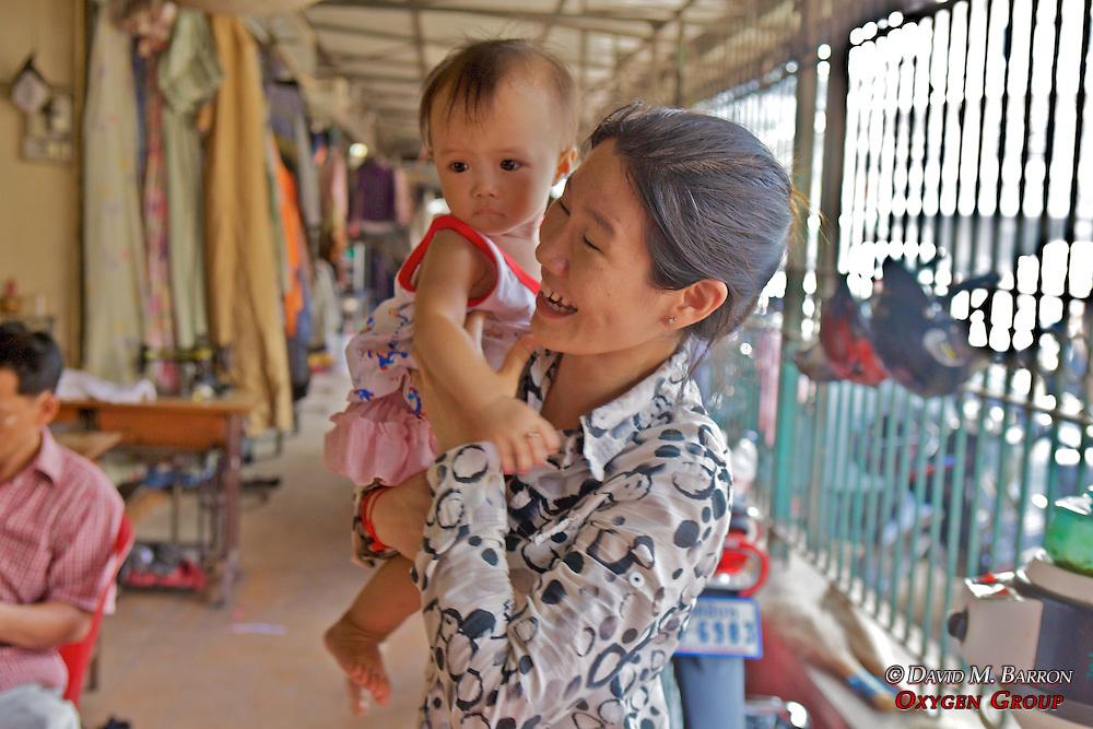 Little Boy At Phsar Nath Market