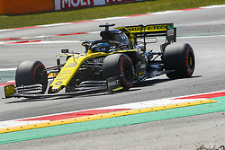 May 11, 2019 - Barcelona, Catalonia, Spain - Renault driver Daniel Ricciardo (3) of Australia during F1 Grand Prix qualifying celebrated at Circuit of Barcelona 11th May 2019 in Barcelona, Spain. (Credit Image: © Mikel Trigueros/NurPhoto via ZUMA Press)