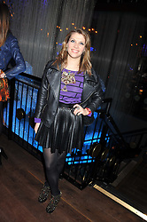 PIPS TAYLOR at the ZEO 'Just January' Party held at the Buddha Bar, 145 Knightsbridge, London SW1 on 31st January 2013.