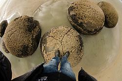 Moeraki Boulders, Koekohe Beach