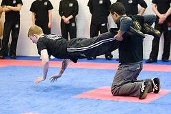 Haim Sasson takes the Civilian Instructors Course (CIC) Part 1 at the Scottish Martial Arts Centre, Alloa, Scotland UK.©2010 Michael Schofield. All Rights Reserve