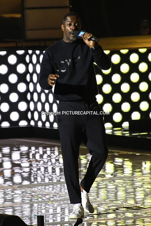 Speaker Idris Elba at 2020 WE Day UK at Wembley Arena, London, Uk 4 March 2020.