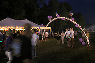 Pine Bush, New York - People from the Pine Bush community participate in the Relay for Life on Saturday, June 12, 2010. The Relay for Life is the American Cancer Society's largest fundraising event.