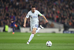 March 14, 2018 - Barcelona, Spain - CESAR AZPILICUETA of Chelsea FC during the UEFA Champions League, round of 16, 2nd leg football match between FC Barcelona and Chelsea FC on March 14, 2018 at Camp Nou stadium in Barcelona, Spain (Credit Image: © Manuel Blondeau via ZUMA Wire)