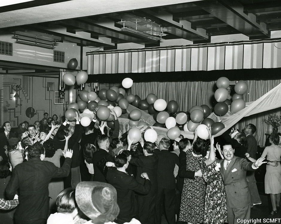 1939 New Year's Eve at Cafe Montmartre on Hollywood Blvd.