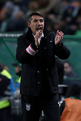 February 3, 2019 - Lisbon, Portugal - Benfica's head coach Bruno Lage during the Portuguese League football match Sporting CP vs SL Benfica at Alvalade stadium in Lisbon, Portugal on February 3, 2019. (Credit Image: © Pedro Fiuza/ZUMA Wire)