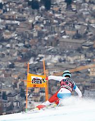 26.12.2017, Stelvio, Bormio, ITA, FIS Weltcup, Ski Alpin, Abfahrt, 1. Training, Herren, im Bild Nils Mani (SUI) // Nils Mani of Switzerland in action during 1st practice for the mens Downhill of  FIS Ski Alpine Worldcup at the Stelvio course, Bormio, Italy on 2017/12/26. EXPA Pictures © 2017, PhotoCredit: EXPA/ Johann Groder