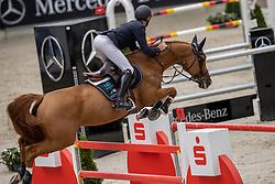Bruynseels Niels, BEL, Ilusionata van't Meulenhof<br /> Aachen International Jumping <br /> Aachen 2020<br /> © Hippo Foto - Dirk Caremans<br /> 06/09/2020