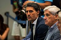 Jose Luis Perez Caminero during the presentation of the new Atletico de Madrid's football player, Nico Gaitan for the next season 2016-2017 at Vicente Calderon Stadium in Madrid. July 19, Spain. 2016. (ALTERPHOTOS/BorjaB.Hojas)