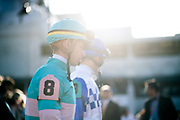 November 3, 2018: Breeders' Cup Horse Racing World Championships. Jockey Tyler Gaffalione