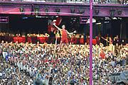 Olympic Stadium, Stratford, London, United Kingdom<br /> <br /> Description:<br /> <br /> 2012 London Olympic, Athletics, <br /> . <br /> <br /> 19:07:28  Friday  10/08/2012 [Mandatory Credit: Peter Spurrier/Intersport Images]