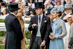 Duke and Duchess of Cambridge, Queen Maxima and King Willem-Alexander on day one of Royal Ascot at Ascot Racecourse. June 18, 2019. Photo by Robin Utrecht/ABACAPRESS.COM