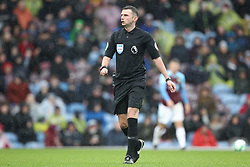 March 16, 2019 - Burnley, Lancashire, United Kingdom - BURNLEY, UK 16TH MARCH Referee Michael Oliver during the Premier League match between Burnley and Leicester City at Turf Moor, Burnley on Saturday 16th March 2019. (Credit: Mark Fletcher   MI News) (Credit Image: © Mi News/NurPhoto via ZUMA Press)