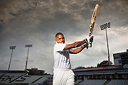 Chris Jordan Photo-Shoot as ambassador for Octopus Investments at Sussex County Cricket Club.