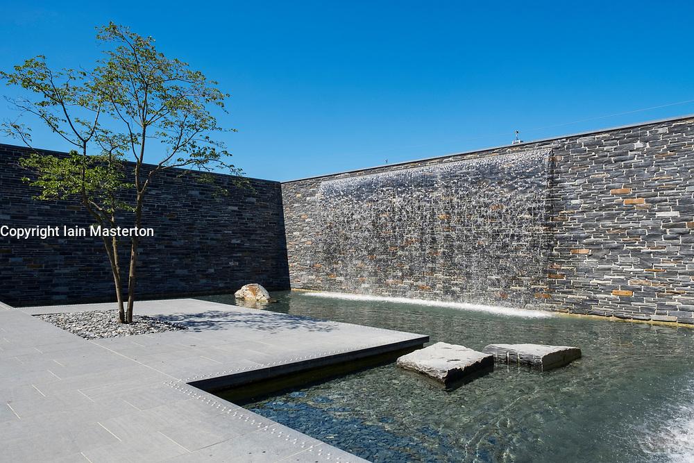 Promenade Aquatica water gardens at IFA 2017 International Garden Festival (International Garten Ausstellung) in Berlin, Germany