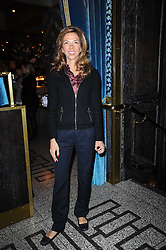 HEATHER KERZNER at a party to celebrate the 1st anniversary of Gift-Library.com held at Bob Bob Ricard, 1 Upper James Street, London on 19th November 2009.