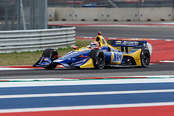 March 23, 2019 - Austin, TX, U.S. - AUSTIN, TX - MARCH 23: Alexander Rossi (27) in the NAPA AUTO PARTS, Honda powered Dallara IR-18 at turn 16 during Practice 3 at the IndyCar Classic held March 22-24, 2019 at the Circuit of the Americas in Austin, TX. (Photo by Allan Hamilton/Icon Sportswire) (Credit Image: © Allan Hamilton/Icon SMI via ZUMA Press)