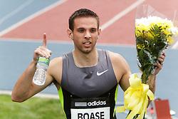 Samsung Diamond League adidas Grand Prix track & field; Mens 400 meters, B race, Jordan Boase, USA, winner
