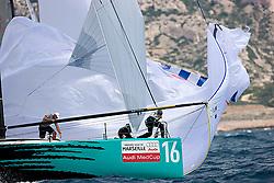 08_006620 © Sander van der Borch. Marseille - FRANCE,  June 5th 2008. AUDI MEDCUP  in Marseille  (2/7 June 2008). Coastal race.