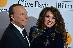 Thalia attends the Clive Davis and Recording Academy Pre-GRAMMY Gala and GRAMMY Salute to Industry Icons Honoring Jay-Z on January 27, 2018 in New York City.. Photo by Lionel Hahn/ABACAPRESS.COM