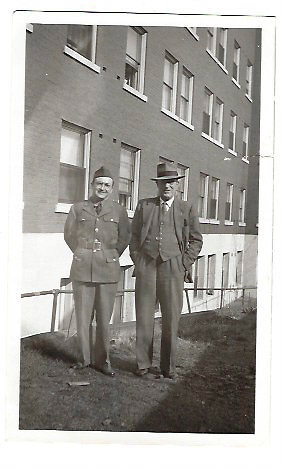 """""""Trygve and Arne Strand, WWII"""" (Sig's brothers)"""