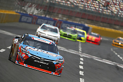 May 26, 2018 - Concord, North Carolina, United States of America - Kyle Busch (18) brings his race car down the front stretch during the Alsco 300 at Charlotte Motor Speedway in Concord, North Carolina. (Credit Image: © Chris Owens Asp Inc/ASP via ZUMA Wire)